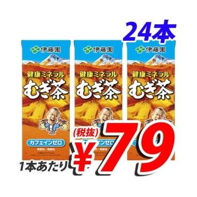 伊藤園 健康ミネラル麦茶 250ml×24本