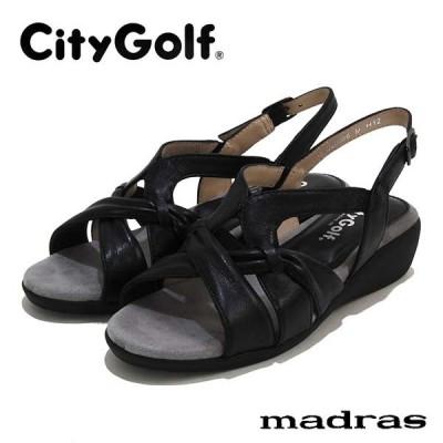 SALE30%OFF シティゴルフ CityGolf マドラス社製 革 バックベルトサンダル