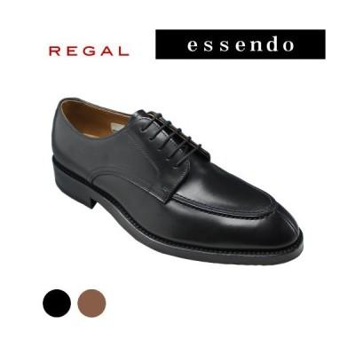 リーガル ビジネスシューズ  Uチップ ロングノーズ ビークトゥ RE06TR ブラック ブラウン REGAL メンズ 靴 GORE-TEX