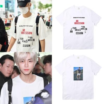 大人気! NCT DREAM JAEMIN同じデザイン 半袖Tシャツ 韓国ファッション tシャツ 男女兼用 トップス 韓国