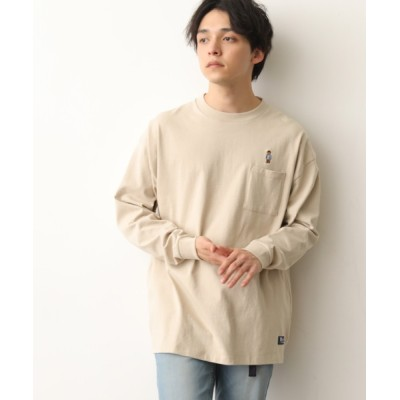 tシャツ Tシャツ ROSTER BEAR別注刺繍ロンTEE