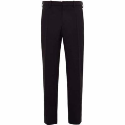 ワードローブ ニューヨーク WARDROBE.NYC メンズ ボトムス・パンツ Release 05 pressed wool canvas trousers Black