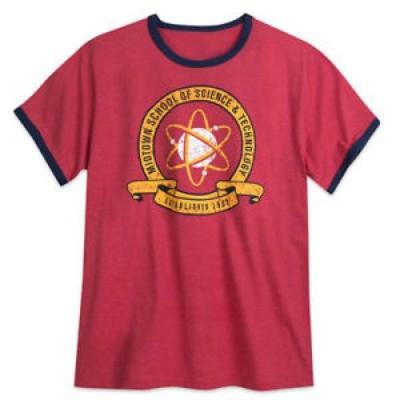 【お取り寄せ】ディズニー メンズ DISNEY Store SPIDERMAN School MIDTOWN SCIENCE Technology 4XL Mens RINGER t SHIRT