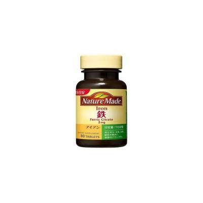 《大塚製薬》 ネイチャーメイド 鉄(アイアン) レギュラーサイズ 80粒/40日分 (栄養機能食品)