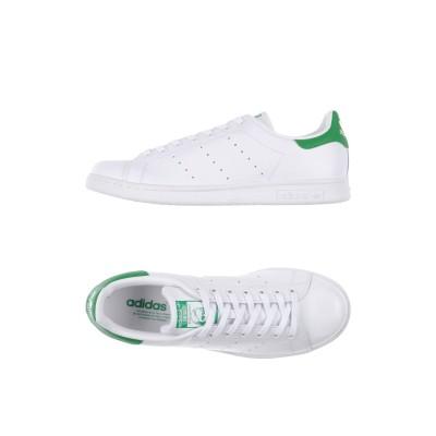 ADIDAS ORIGINALS スニーカー&テニスシューズ(ローカット) ホワイト 6 革 / 紡績繊維 スニーカー&テニスシューズ(ローカット)