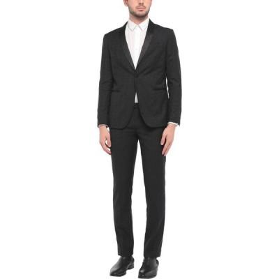 アスファルト ASFALTO メンズ スーツ・ジャケット アウター Suit Black