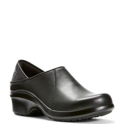 アリアト レディース サンダル シューズ Hera Expert Leather Slip-On Professional Clogs Black