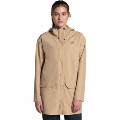 (取寄)ノースフェイス レディース ウッドモント レイン ジャケット The North Face Women Woodmont Rain Jacket Hawthorne Khaki