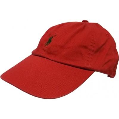 ポロ ラルフローレン ワンポイント キャップ 帽子 レッド メンズ Polo Ralph Lauren 067