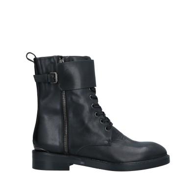 THE SELLER ショートブーツ ブラック 36 牛革(カーフ) ショートブーツ