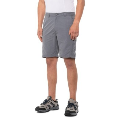 アメリカンアウトドアーズマン American Outdoorsman メンズ ハイキング・登山 ショートパンツ ボトムス・パンツ Hybrid Shorts - UPF 50+, 9 Shade Grey
