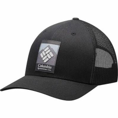 コロンビア Columbia メンズ キャップ スナップバック 帽子 Mesh Snap Back Hat Black/Black