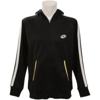 【セール】 ロット ラケットスポーツ アパレル ウォームアップジャケット LO-F19-004-045 メンズ ブラック