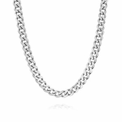 7.5MM Italian 925 Solid Sterling Silver Classic Curb Cuban Chain for Men- Solid Heavy Link, Thick Link Chain Necklace, Silver Ne