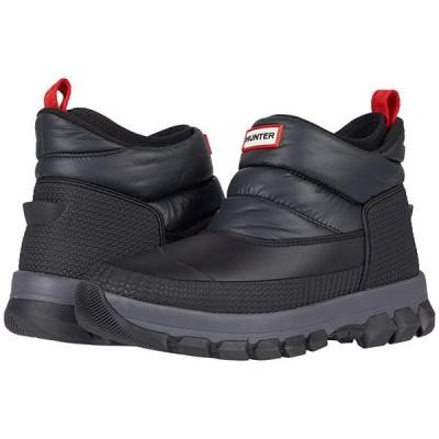 ハンター Original Insulated Snow Ankle Boots メンズ ブーツ Black