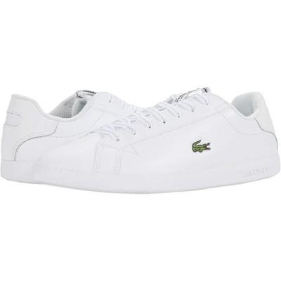 ラコステ Graduate 0520 1 メンズ スニーカー 靴 シューズ White/Light Grey