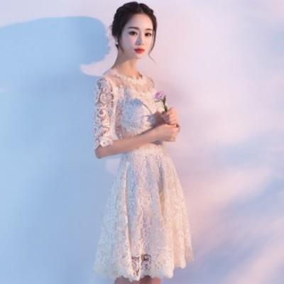 結婚式 ドレス パーティー ロングドレス 二次会ドレス ウェディングドレス お呼ばれドレス 卒業パーティー 成人式 同窓会hs91