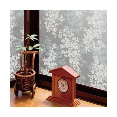 空気が抜けやすい窓飾りシート(プリントタイプ) GDP-4631 46cm丈×90cm巻 ホワイト(W) (APIs)