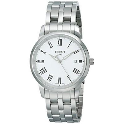 ティソ Tissot 腕時計 メンズ 時計 Tissot Men's T0334101101300 Dream White Dial Watch
