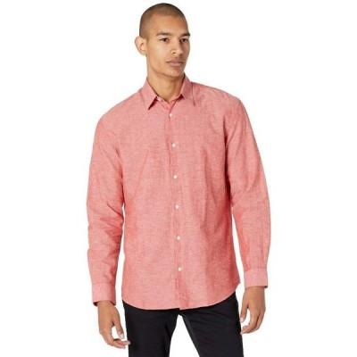 セレクテッドオム メンズ シャツ トップス Linen Long Sleeve Shirt