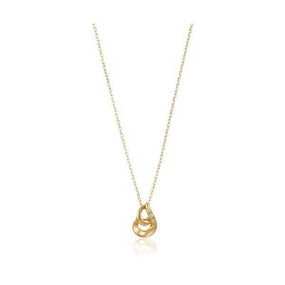 ウィスプ ダイヤモンド K18イエローゴールド ペンダント ネックレス GPCWP21706 イエロー(小)