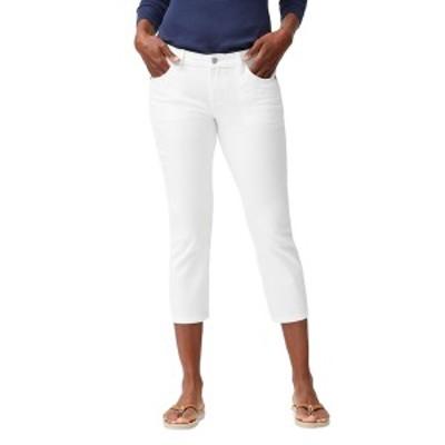 トッミーバハマ レディース カジュアルパンツ ボトムス Ana Twill Crop Jeans WHITE