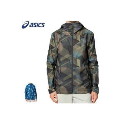 アシックス asics  ランニングウェア グラフィックウーブン ジャケット メンズ 男性用 レディース 女性用 2011B253【返品・交換不可】