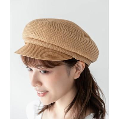 Edit Sheen / ペーパー素材キャスケット WOMEN 帽子 > キャスケット