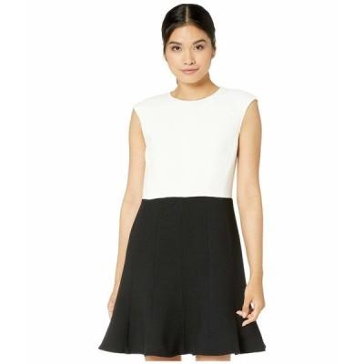 ケイト スペード ワンピース トップス レディース Color-Block Dress Black