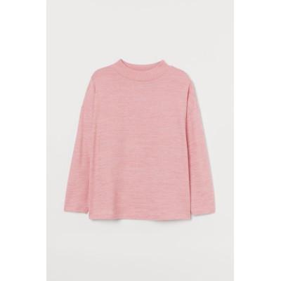 H&M - H&M+ Turtleneck jumper - ピンク