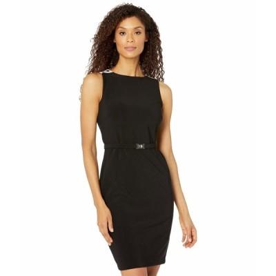 ラルフローレン ワンピース トップス レディース Stieler Sleeveless Day Dress Black/Lauren White