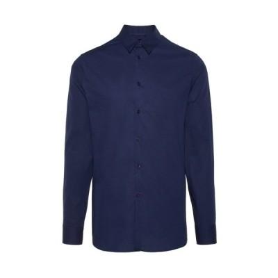 ジェイ リンドバーグ シャツ メンズ トップス Shirt - navy
