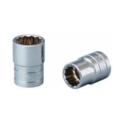 京都機械工具(KTC) ソケット 12角 B4-17W-S 全長:34×差込角:12.7mm