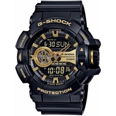 [カシオ] 腕時計 ジーショック GA-400GB-1A9JF ブラック