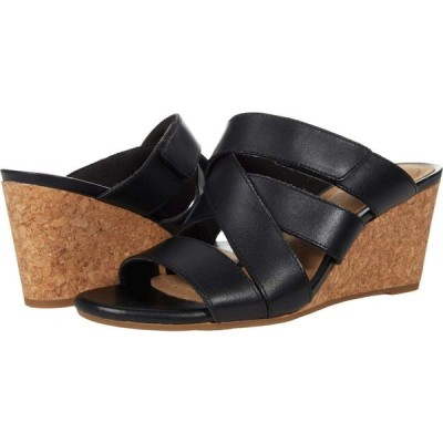 クラークス Clarks レディース サンダル・ミュール シューズ・靴 Margee Kate Black Leather