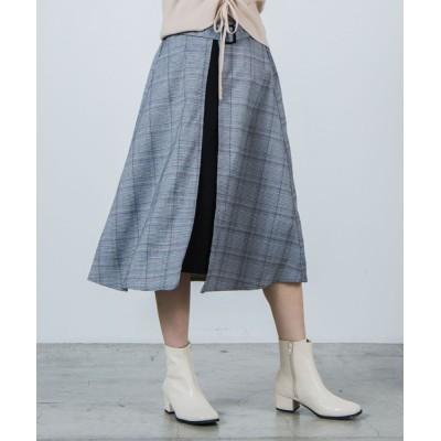 WEGO / WEGO/ベルトラップロングスカート WOMEN スカート > スカート