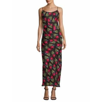 アナスイ レディース ワンピース Floral Long Dress