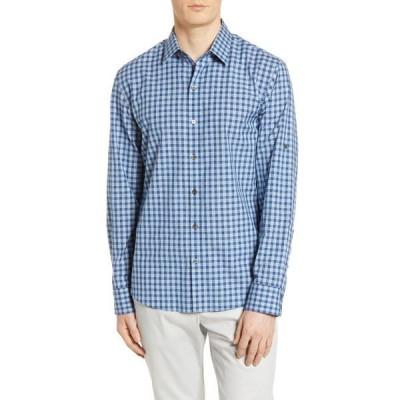 ザッカリープレル メンズ シャツ トップス Regular Fit Shirt DARK MINT