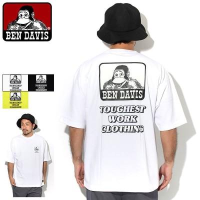 ベンデイビス Tシャツ 半袖 BEN DAVIS メンズ ビッグ アイコン ( C-0580022 Big Icon S/S Tee ビッグシルエット オーバーサイズ カットソー )