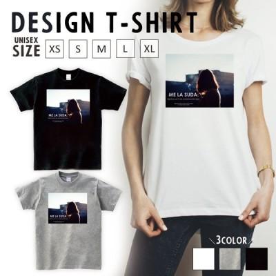 Tシャツ レディース 半袖 トップス ブランド ユニセックス メンズ プリントTシャツ ペア ガール タバコ smoking ロゴ 英字 おしゃれ