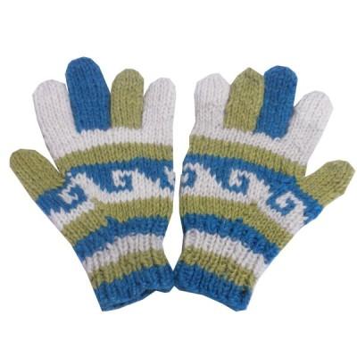 手袋 アジアン衣料 ネパール手編み手袋31  クリックポスト選択 送料200円