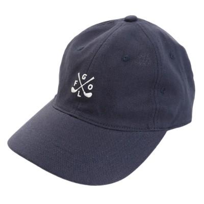 ACPGトレッキングリネン刺繍キャップ GOLF 897PA9ST1742 NVYネイビー