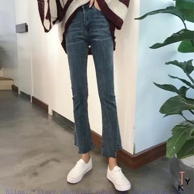 ズボンデニムレディースレディースファッション¥/ボトムス¥/ジーンズ、カジュアルパンツオシャレ