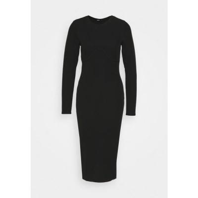 オンリー レディース ドレス ONLMODENA MIDI DRESS - Shift dress - black