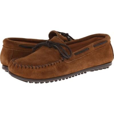 ミネトンカ Minnetonka メンズ ローファー シューズ・靴 Classic Moc Dusty Brown Suede