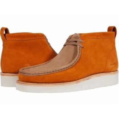Clarks クラークス メンズ 男性用 シューズ 靴 ブーツ チャッカブーツ Wallabee Hike Golden Tan Combi【送料無料】