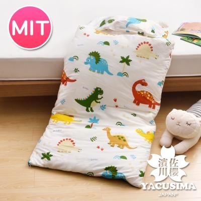 日本濱川佐櫻-淘氣恐龍 純棉冬夏兩用兒童睡袋