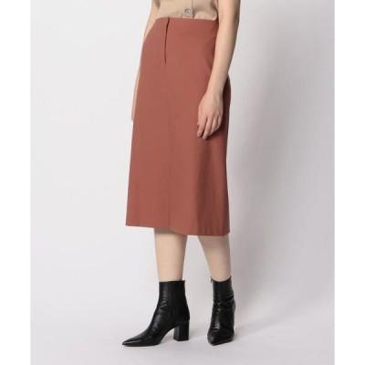 TOMORROWLAND / トゥモローランド コットンポリエステルポンチ トラペーズスカート
