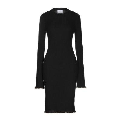 DONDUP ニットドレス  レディースファッション  ドレス、ブライダル  パーティドレス ブラック