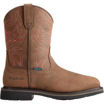 アリアト メンズ ブーツ・レインブーツ シューズ Ariat Men's Sierra Delta Waterproof Western Work Boots